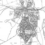 Delhi and Vicinity histrotical map 1962 City Plan