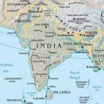India South asia Map