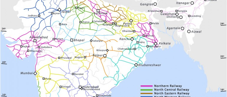Railway-network-map