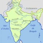Rivers map of India