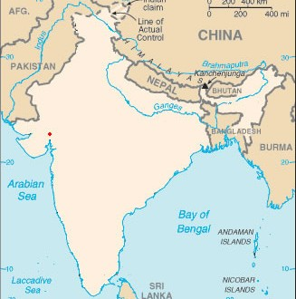 blank-colored-india-map