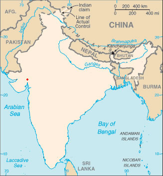 Actual Map Of India.Blank Colored India Map Maps Of India