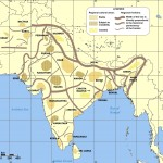 Cultural regional areas of india map