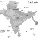 Historic maps british India