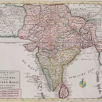 Historical map India
