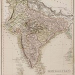 Historical map India 1808