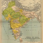 Historical maps India in 1804