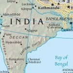 India calcutta map