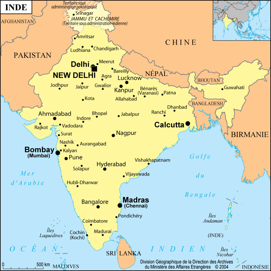 india city scale map maps of india