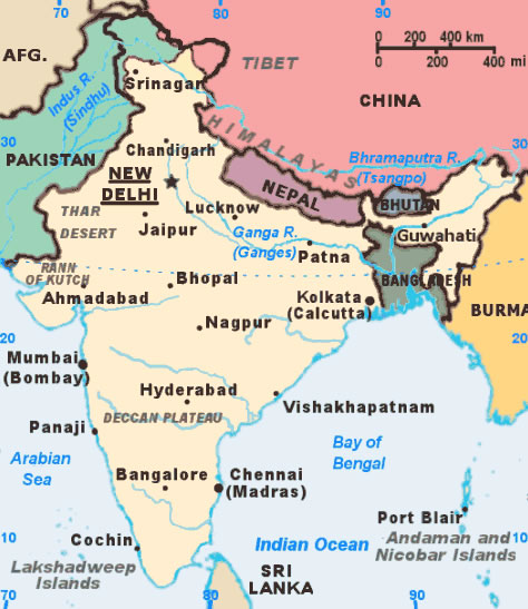 India citys map maps of india india citys map gumiabroncs Image collections