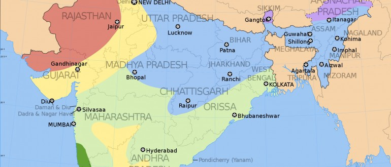 Location Of Ranchi In India Map.India Climatic Zone Map Maps Of India