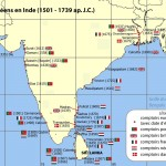 India comptoirs map