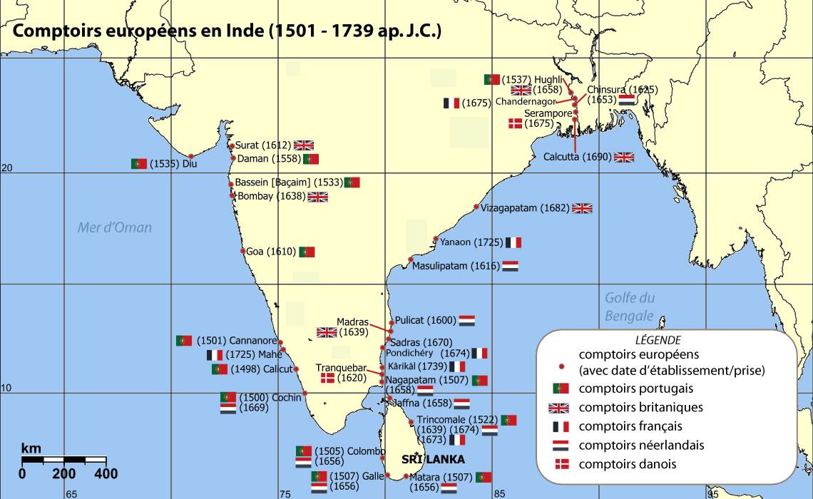 india-comptoirs-map