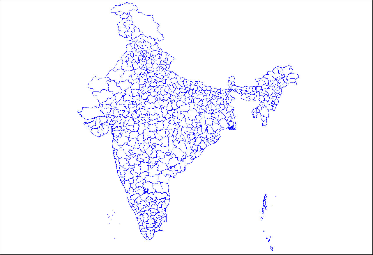 map of india with districts India Districts Map Maps Of India map of india with districts