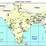 India energy map 1997