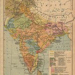 India historical map 1700 1792 from The Historical Atlas