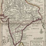 India historical map mogul