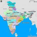 India languages map