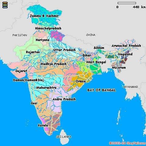 india-languages-map