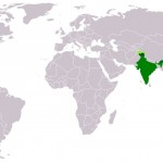 India location world map