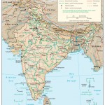 India physio map 2001