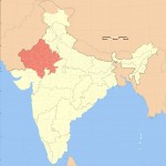 India rajasthan locator map