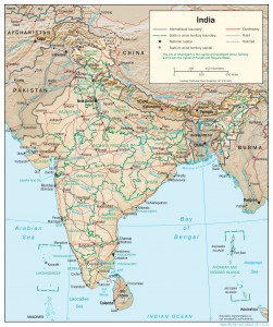india-relief-map