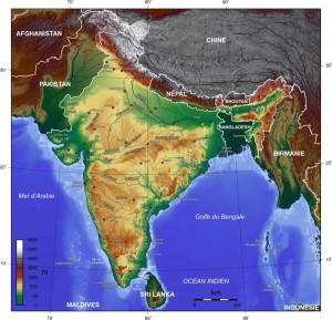 india-topogaphy