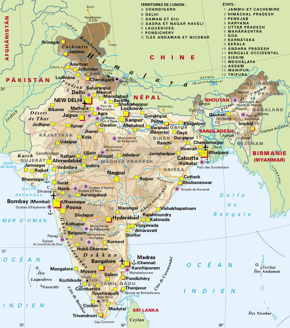 map-of-india-airport-city-states