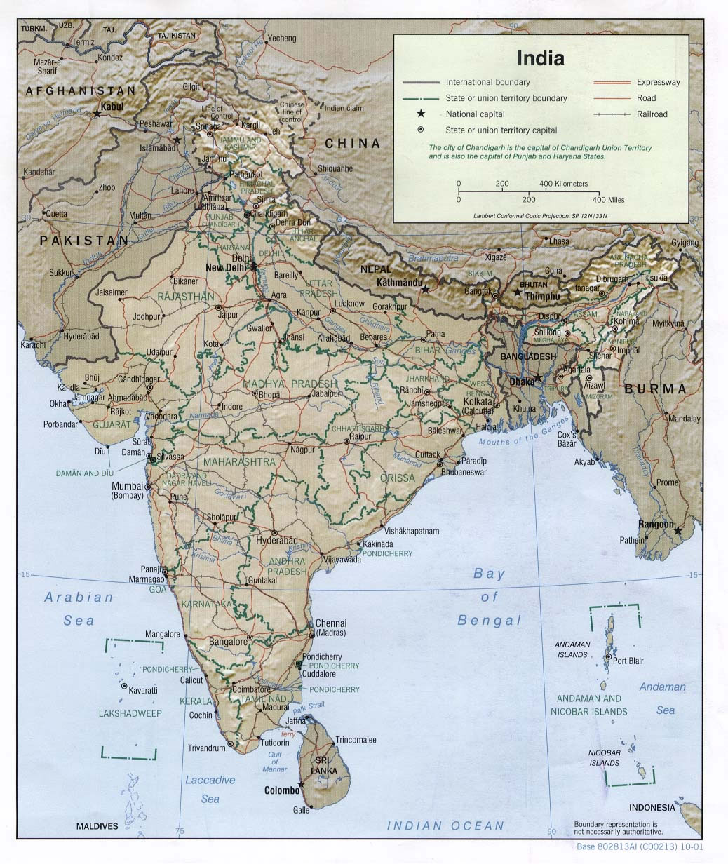 map-of-relief-india