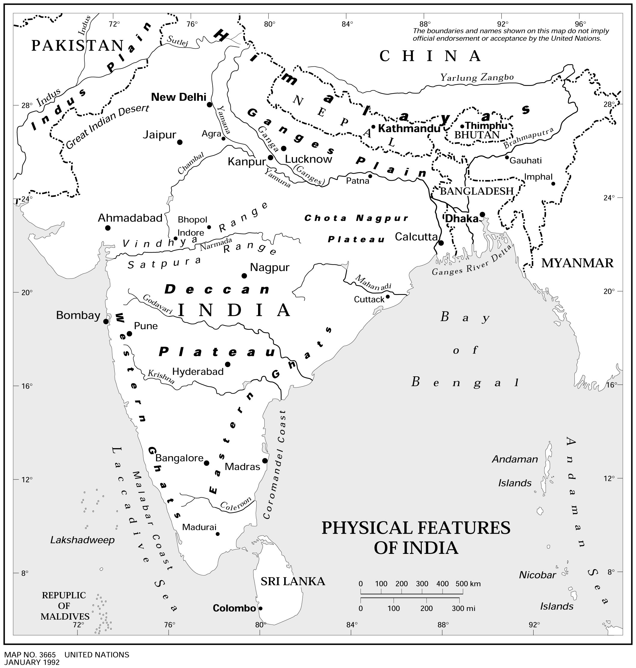 physical-features-of-india-map