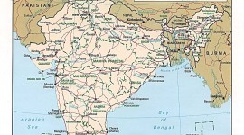political-map-of-india-1996