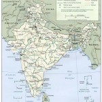Political map of India 2001