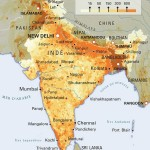 Population density India map