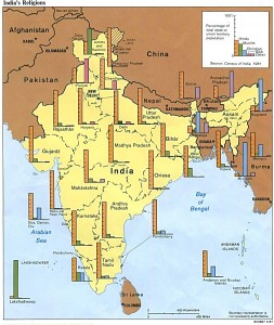 religions-map-of-india-1987