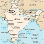 Small map of india