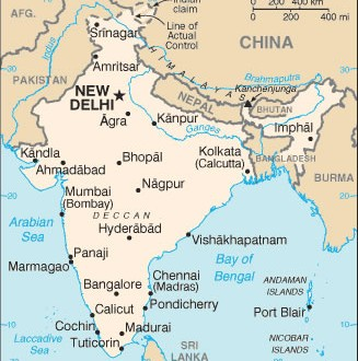 Small map of india maps of india small map of india gumiabroncs Image collections