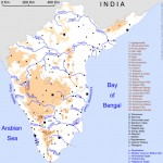 South India regions map