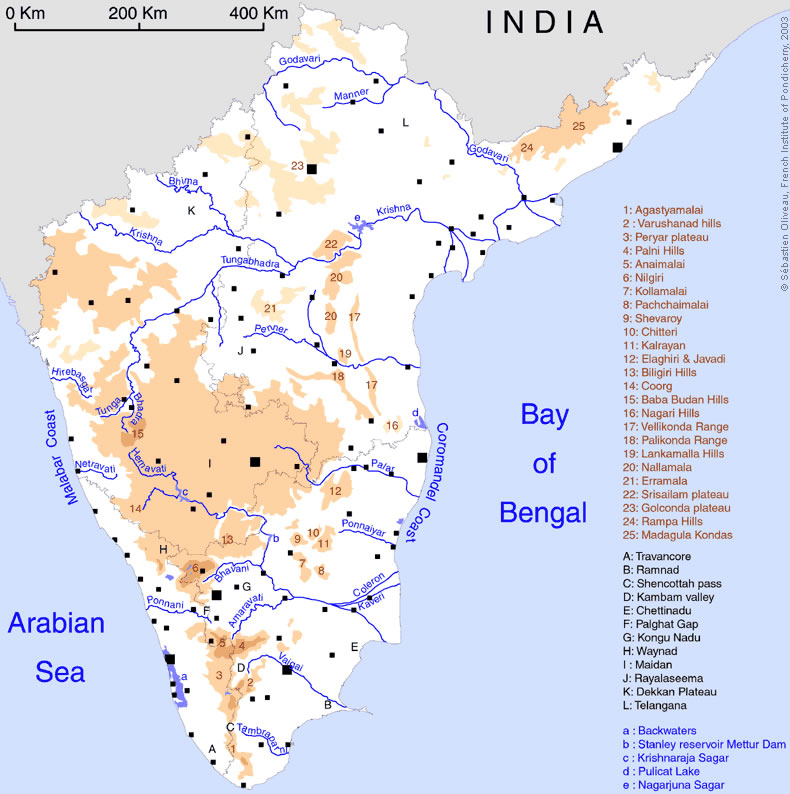 south-india-regions-map