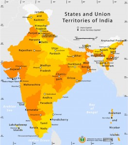 state-and-union-territories-india-map