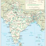 The india map