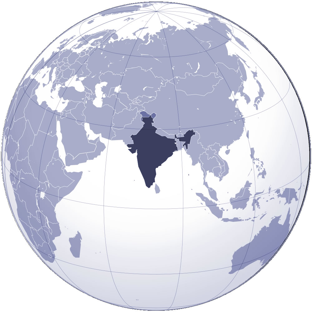 Where is India Located